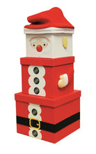 Load image into Gallery viewer, XL Christmas Stacking Gift Boxes - Multiple styles