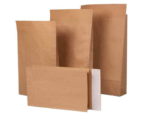 Paper Eco Mailing Bags, Pack of 10, 250x50x353 mm Various sizes