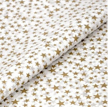 Load image into Gallery viewer, Luxury Gold Star Tissue Paper 5 sheets