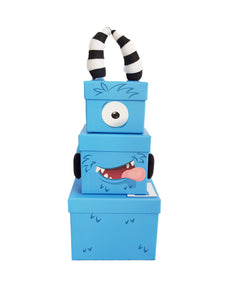 Children's Monster Stacking Gift Box front zoom