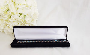 Black Velvet Luxury Bracelet Gift Box front
