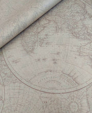 Load image into Gallery viewer, Luxury Old World Map Tissue Paper 5 sheets