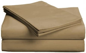Egyptian Cotton Valance Sheet : Coffee