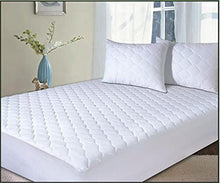 Load image into Gallery viewer, 100% Egyptian Cotton Mattress protector Extra Deep - All sizes