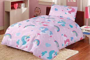 Cot Bed Duvet Cover Set – Baby Pony
