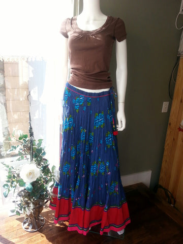Skirt Navy Red