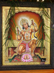 Painting Oil Hanuman 26in