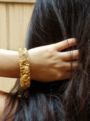 Bangle Goldplated Elephant