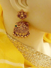 Earring Goldplated Laxmi