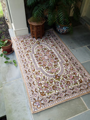 Rug Chain Stitch 5' Rose Blush