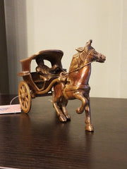 Figurine Horse Cart