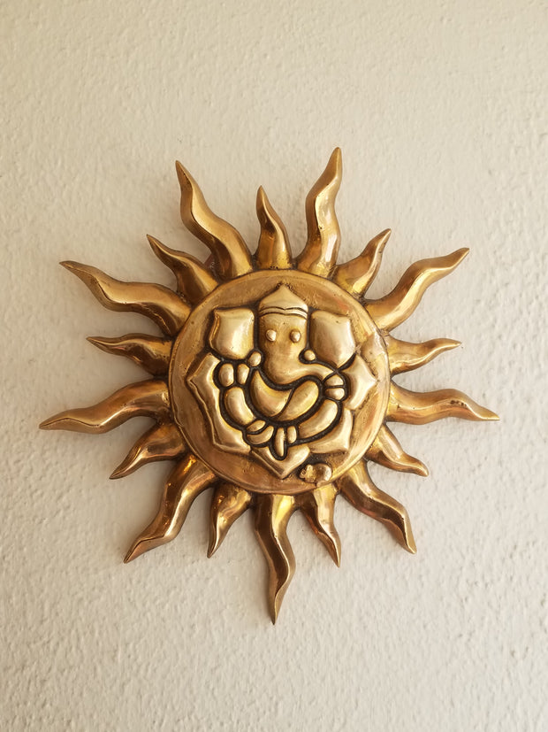 Wall Decor Sun Ganesha