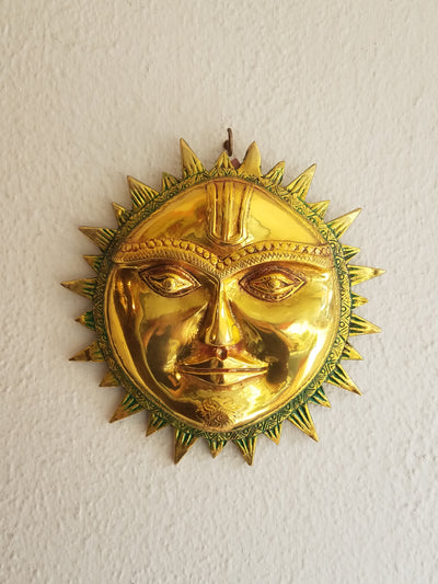 Wall Decor Sun Face