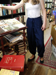 Pants Dhoti Navy