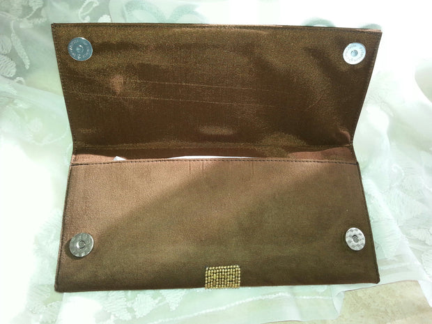 Clutch Shell Brown