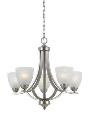 Chandelier Satin Nickel  #010850-014