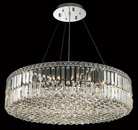 Chandelier Chrome Finish And Cut Crystal #01082116-16