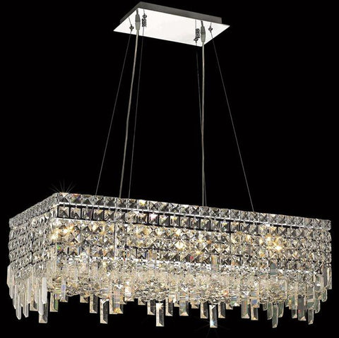Chandelier Chrome Finish And Crystal #01082147-16