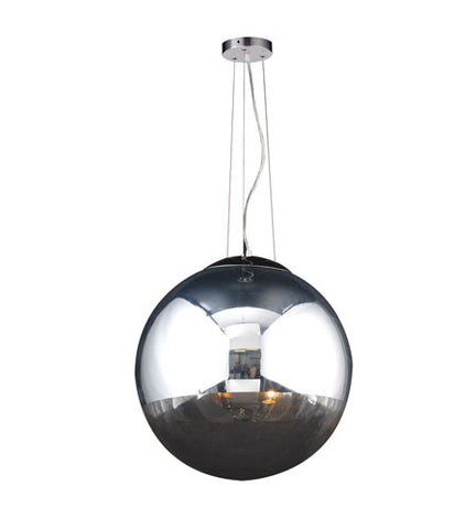 Pendant  Polished Chrome Finish And Half Silvered Glass #020839-16