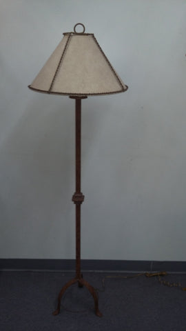 Floor Lamp metal Base With Painted Paper Shade 06-118-JSH-99