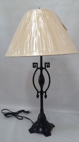 Table lamp Black Metal And Cream Shade 721848-JSH