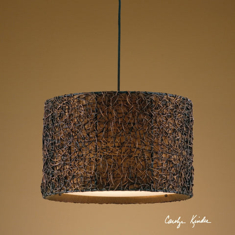 Pendant Rubbed Espresso Finish #020853-28