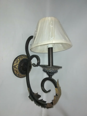 Wall Sconce Antique Gray And Gold 10218-DD-JSH
