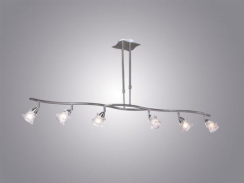 Pendant Satin Nickel And Frosted Glass #020839-14