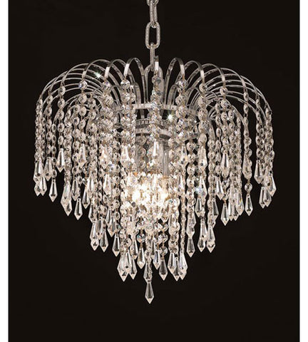 Chandelier Polished Chrome Finish And Cut Crystal #010835-014