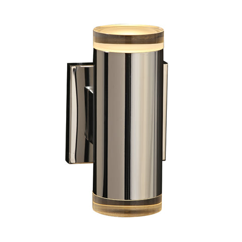 Wall Light Polished Chrome and Glass Diffuser PLCL-90082-PC
