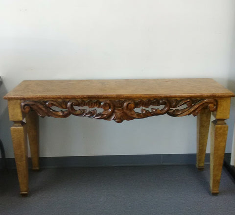 Accessories Console Table Wood Hand Carved 20218-48-JSH-  48Cu