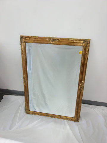Mirror Antique Gold Frame With Beveled Mirror 20218-JSH-QZ