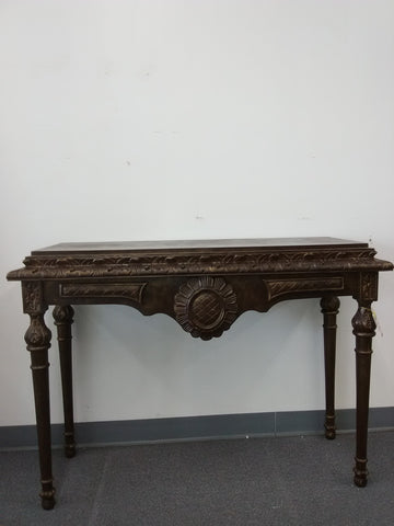 Accessories Hand Carved Wood Console 20218-JSH-MX00