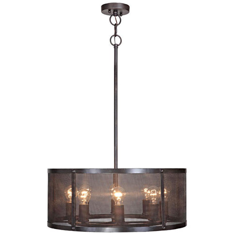 Pendant  Matte Black Finish 010203-16