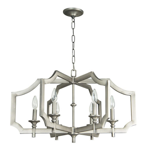 Chandelier  Antique Nickel Finish  010103-16