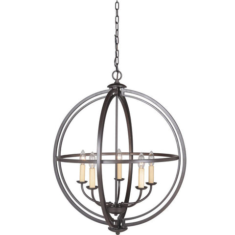 Pendant  Dark Bronze Finish 010203-16