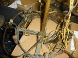 Lamp Repair chandelier refurbish Bronze Frame and Crystal 335-17