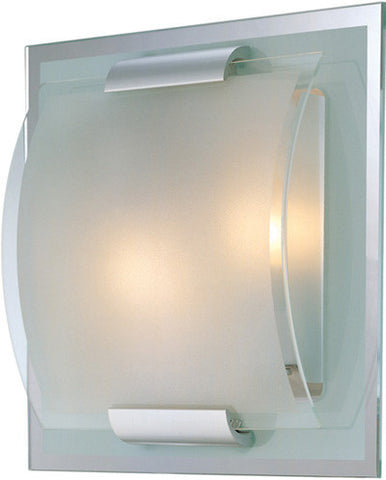 Wall Sconse Satin Nickel  and Frosted Glass #100833-014