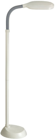 Floor Lamp Ivory and  Black #060833-014