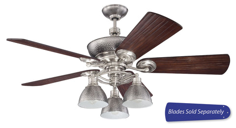 Ceiling Fans Pewter Finish And Dark Blades 5118-1-JSH-CRF