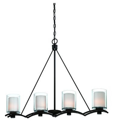 Chandelier Bronze Finish  #01807-149 FP
