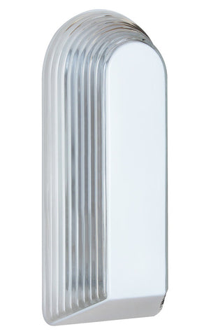 Outdoor Wall Light Withe and Clear Glass #170909-015