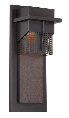 Outdoor Wall Light Bronze Finish #170912-015
