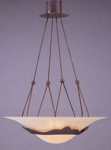 Pendant  Bronze Finish  and Alabaster Glass  #020815-014