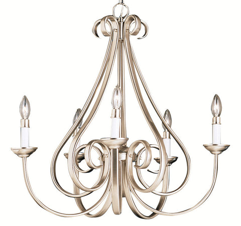 Chandelier  Brushed Nickel Finish  #010831-290