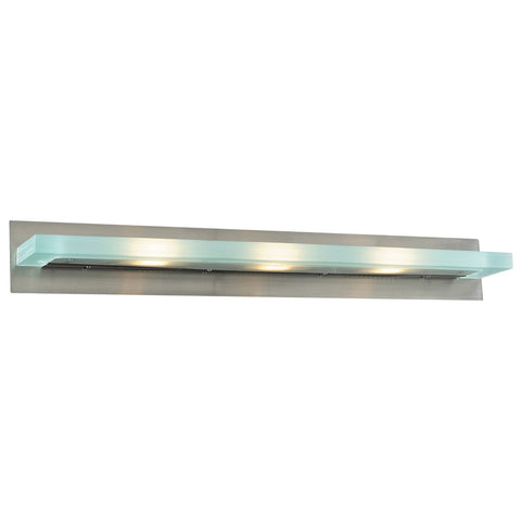 Vanity Light Satin Nickel and acid Frost Glass #90839-014