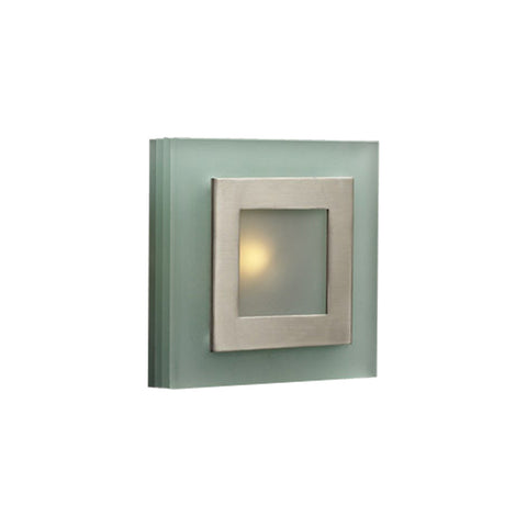 Wall Sconse Satin Nickel and Acid Frost glass #100839-176