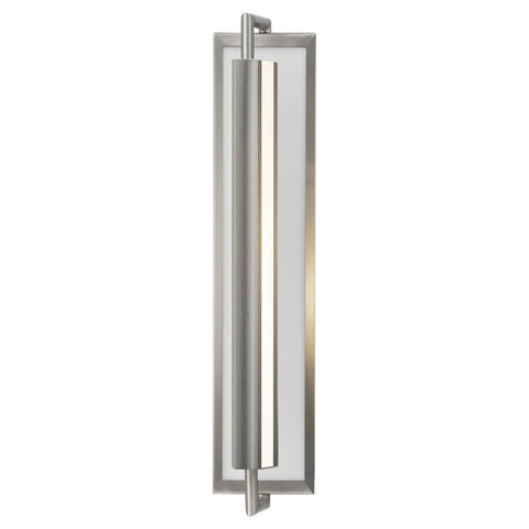 Wall Sconse Brushed Steel   With Reflector #100840-397
