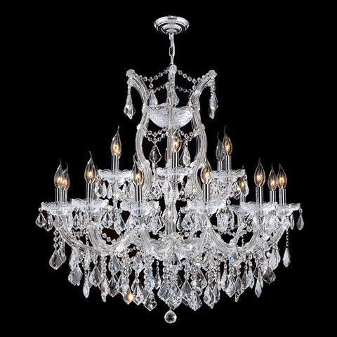 Chandelier Chrome And Hand Cut Crystal 1-44-318-JSH-MT