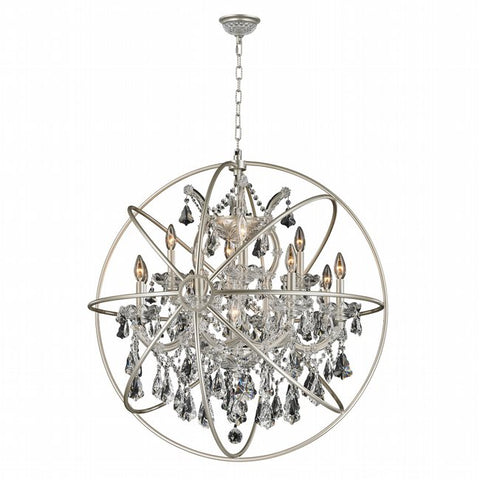 Chandelier Chrome Cage With Clear Crystal 01-118-62-JSH